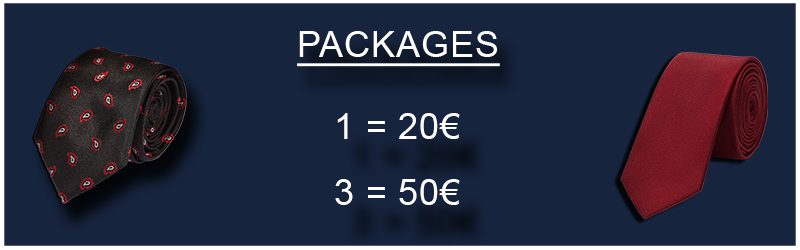 soldes cravates packages